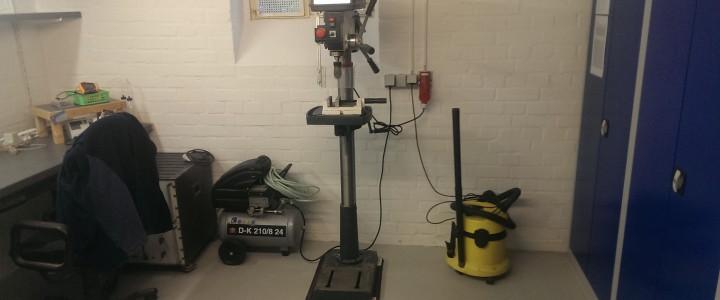 Renovierung und Neueinrichtung der Werkstatt