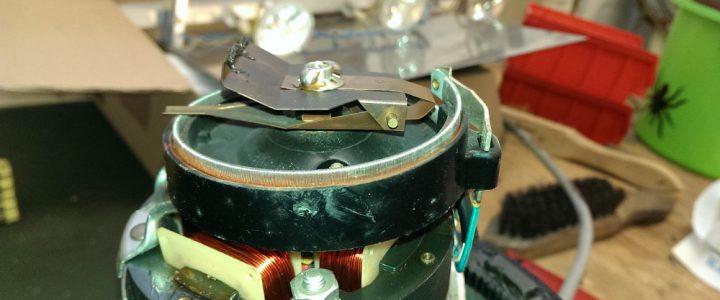 Überarbeitung und Restaurierung einen Antennenrotors CDE HAM III
