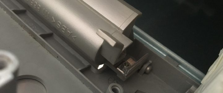 Reparatur Spülmaschinengriff