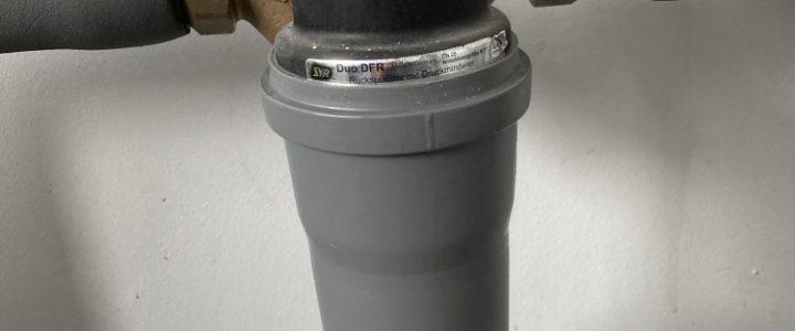 Algenvermeidung im Rückspülfilter